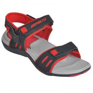 Impakto Women's Classy Sandal Slippers - Red