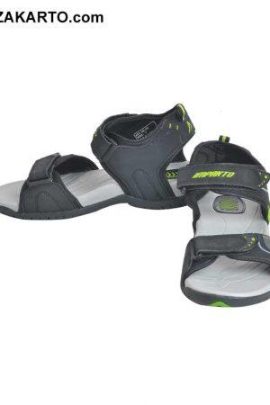 Impakto Men's Classy Sandal Slippers - Black