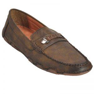 Impakto Men's Loafers - Brown