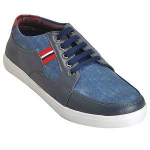 Impakto Men's Casual Shoes - Grey & Blue