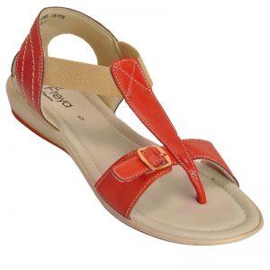 Freya Women's Salwar Sandals - Red