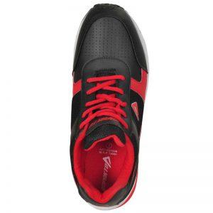 Impakto Men's Sports Shoes - Black & Red