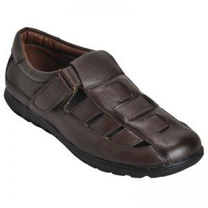 Ajanta Casual Office Sandals - Brown