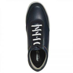 Impakto Men's Casual Shoes - Blue & Brown