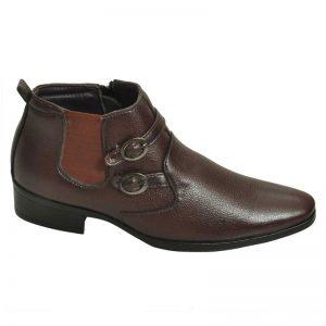 Ajanta Men's Casual Shoes - Brown