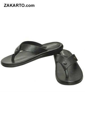Ajanta Men's Classy Sandal Slipper - Black