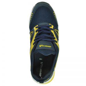 Impakto Men's Sports Shoe - Blue & Yellow
