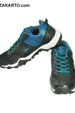 Impakto Men's Sports Shoe - Black & Blue