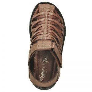 Ajanta Men's Classy Sandal Slipper - Brown
