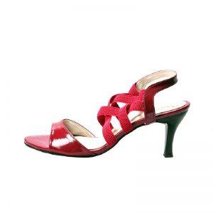 Ajanta Women's Sandals - Red