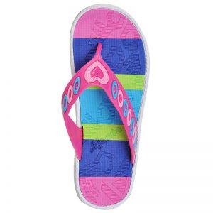 Women's Pink Colour PVC Flip Flops