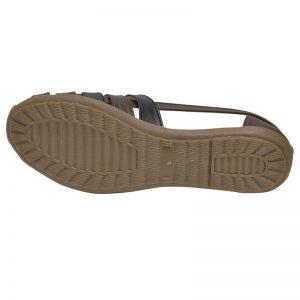 Women's Black Colour Airmax Jelly Shoes