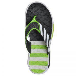 Men's Green Colour PVC Flip Flops