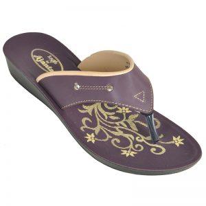 Women's Brown Colour PU Sandals