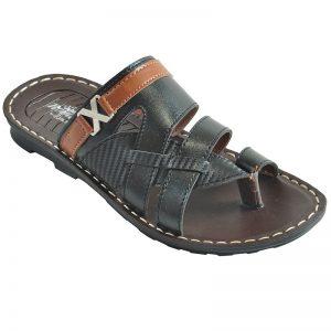 Men's Brown Colour Synthetic Sandals