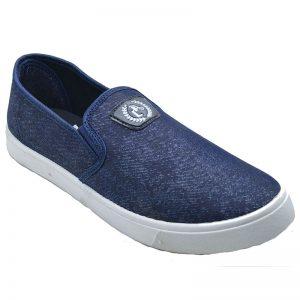 Men's Blue & White Colour Airmax Fabric & Lycra