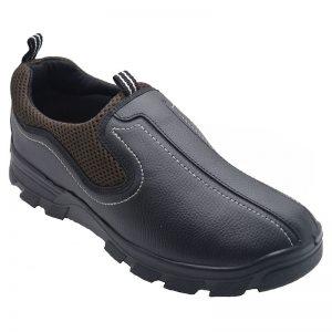 Men's Black Colour Airmax Faux Leather