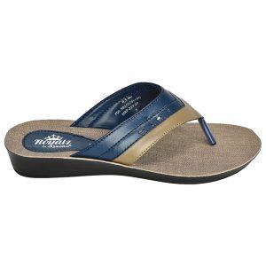 Women's Blue Colour Synthetic Sandals