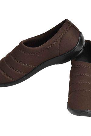 Women's Brown Colour Airmax Fabric & Lycra