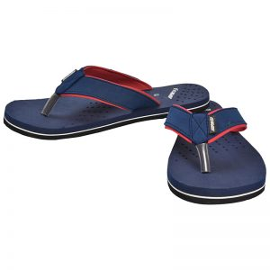 Men's Blue Colour Rubber Sandals