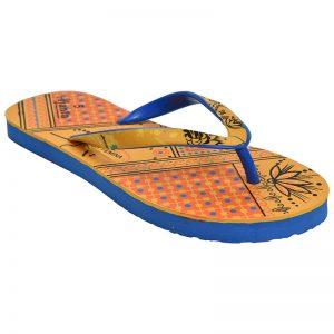 Women's Yellow Colour Rubber Sandals