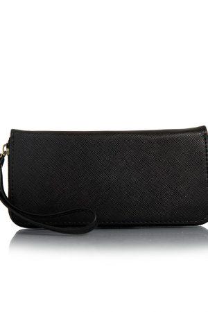 Black Color Zip Clutch