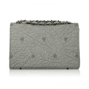 Grey Color Turn Lock Sling Bag