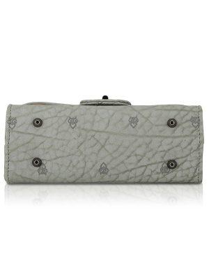 Dark Grey Color Turn Lock Sling Bag