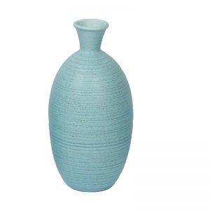 Made to Match - Aqua Ceramic Flower Vase