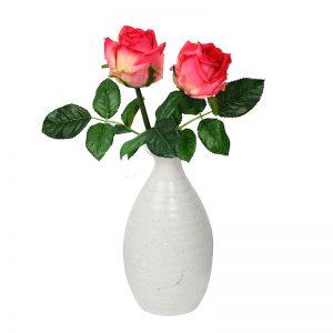 Handcrafted White Ceramic Beautiful Flower Vase