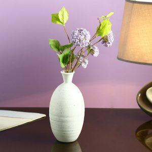 Made to Match - White Ceramic Flower Vase