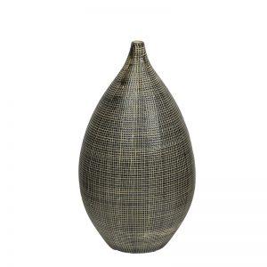 Ceramic Black & White Decorative Vase