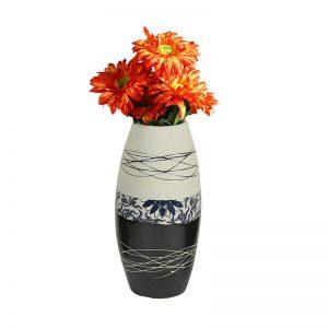 Black & White Ceramic Vases