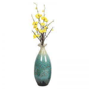 Aqua Ceramic Vases