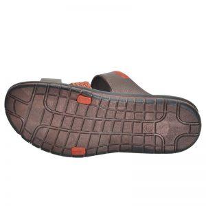 Men's Brown Colour Rubber Sandals