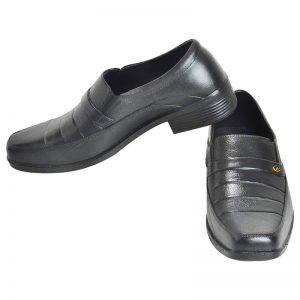 Men's Black Colour Synthetic Leather Formal Shoes