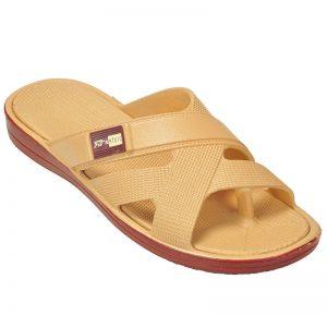 Men's Cream Colour Rubber Sandals