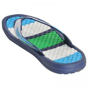 Kid's Sky Blue Colour PVC Flip Flops