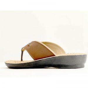 Women's Beige Colour PU Sandals