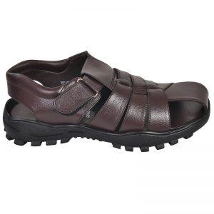 Men's Brown Colour Leather Sandals