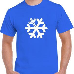 Snowflake LED T-Shirt