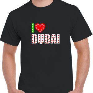 I Love DUBAI LED T-SHIRT