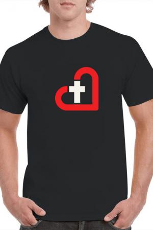 Jesus LED T-shirt