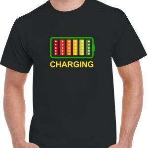 Charging LED T-Shirt
