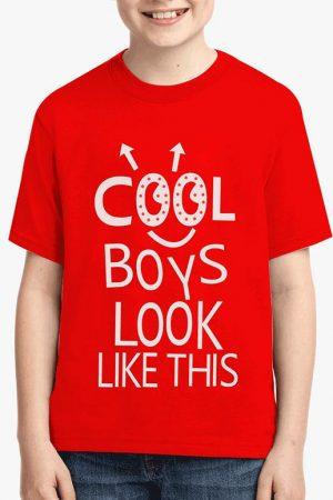 Cool Boys led t-shirt