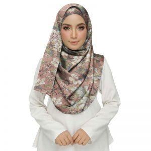 Pink Premium Cotton Printed Women'S Stole