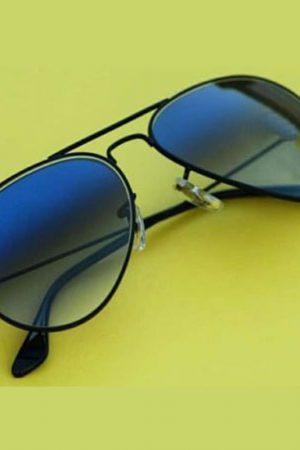 Black And Blue Color Sunglasses