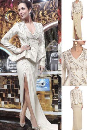 Gaurav Gupta Designer Malaika Arora Khan Jacket With Skirt