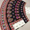 Navratri Garba Dhamaka Festival Outfit Heavy Beautiful Embroidery Lehenga