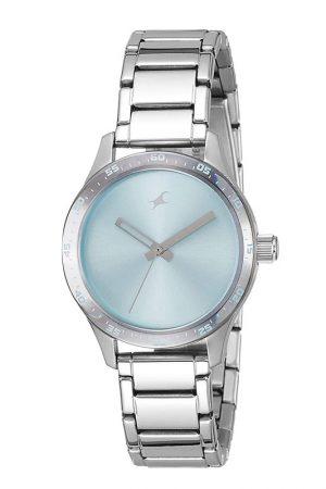 Fastrack Monochrome Analog Blue Dial Women'S Watch -Nk6078Sm03